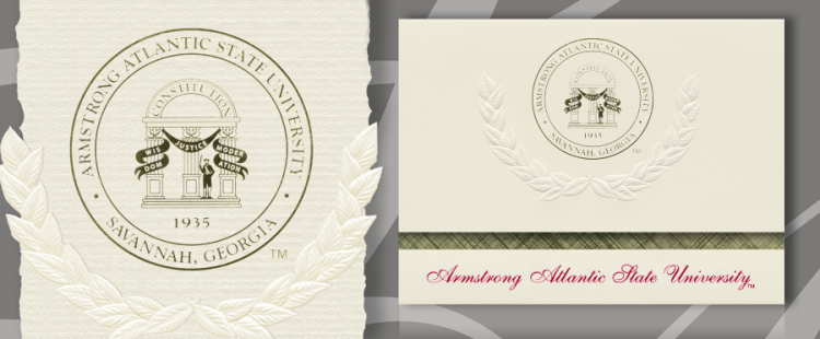 Armstrong Atlantic State University Graduation Announcements