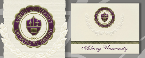 Asbury University Graduation Announcements