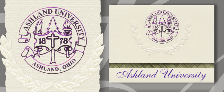Ashland University Graduation Announcements