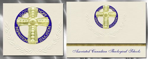 Associated Canadian Theological Schools Graduation Announcements