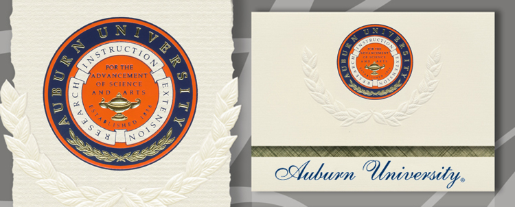 Auburn University Graduation Announcements