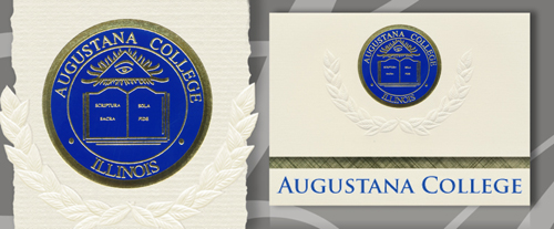 Augustana College Graduation Announcements