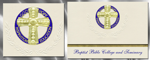Baptist Bible College and Seminary Graduation Announcements