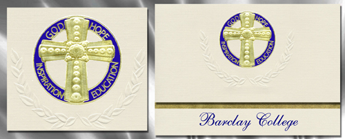 Barclay College Graduation Announcements