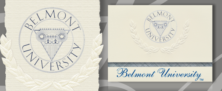 Belmont University Graduation Announcements