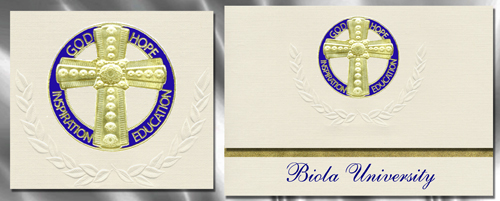 Biola University Graduation Announcements
