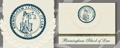 Birmingham School of Law Graduation Announcements