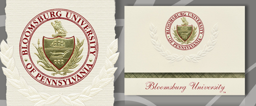 Bloomsburg University Graduation Announcements