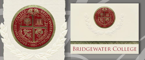 Bridgewater College Graduation Announcements