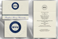 Brigham Young University Graduation Announcements