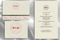 Brigham Young University Hawaii Graduation Announcements