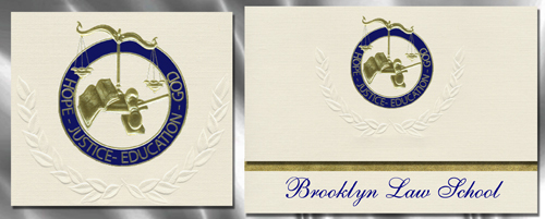 Brooklyn Law School Graduation Announcements