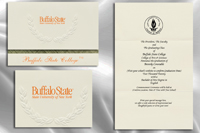 Platinum Buffalo-State-College Graduation Announcements
