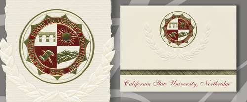 California State University - Northridge Graduation Announcements
