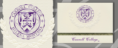 Carroll College - Helena Graduation Announcements