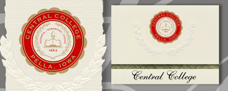 Central College Graduation Announcements