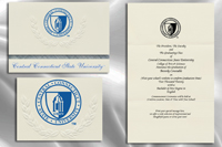 Central Connecticut State University Graduation Announcements