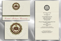 Central Michigan University Graduation Announcements