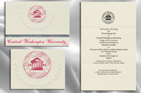 Central Washington University Graduation Announcements