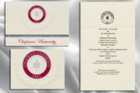 Chapman University Graduation Announcements