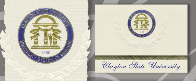 Clayton State University Graduation Announcements