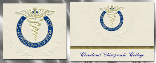 Cleveland Chiropractic College Graduation Announcements