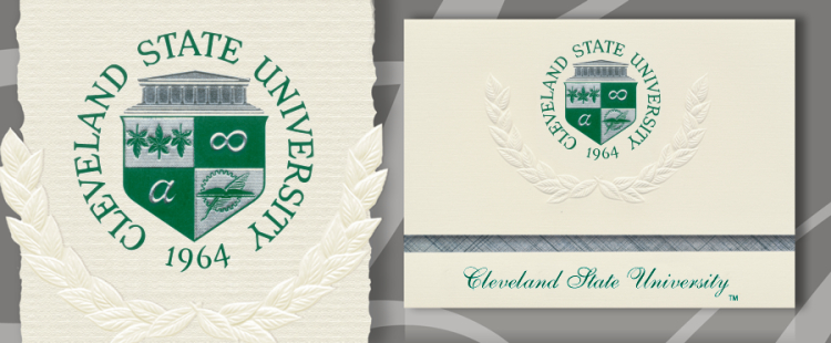 Cleveland State University Graduation Announcements