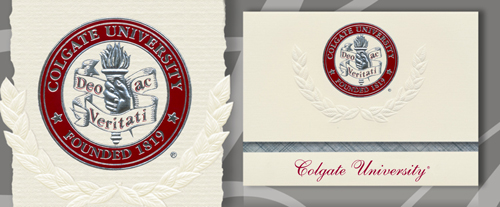 Colgate University Graduation Announcements