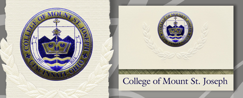 College of Mount St. Joseph Graduation Announcements
