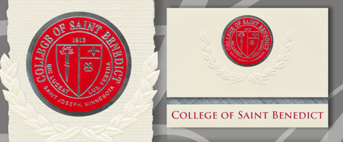 College of Saint Benedict Graduation Announcements