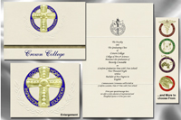 Crown College Graduation Announcements