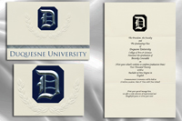 Duquesne University Graduation Announcements