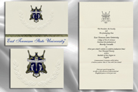 East Tennessee State University Graduation Announcements