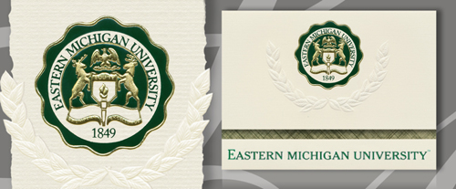 Eastern Michigan University Graduation Announcements