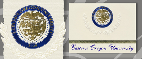 Eastern Oregon University Graduation Announcements