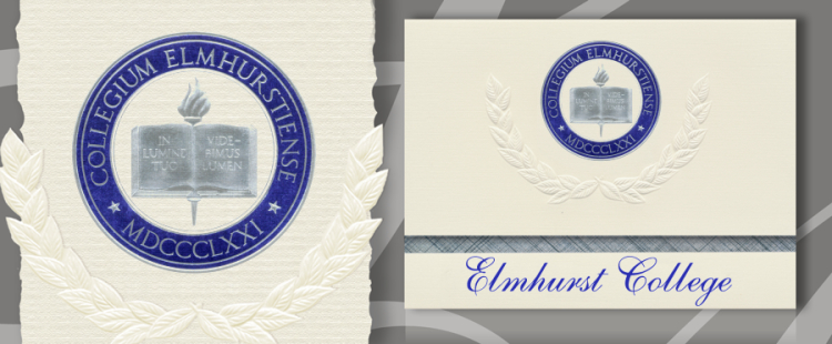 Elmhurst College Graduation Announcements