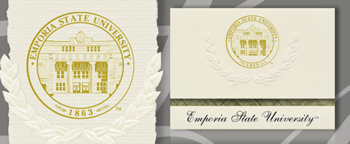 Emporia State University Graduation Announcements