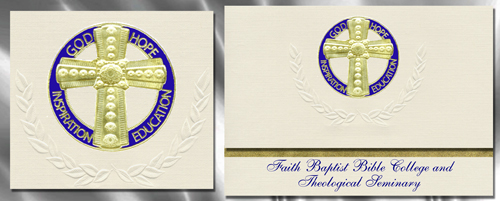 Faith Baptist Bible College and Theological Seminary Graduation Announcements