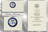 Faulkner University Graduation Announcements