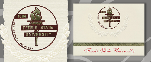 Ferris State University Graduation Announcements