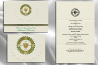 Platinum Florida-A&M-University Graduation Announcements