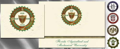 Platinum Florida-A&M-University Graduation Cards