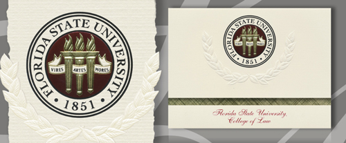 Florida State University College of Law Graduation Announcements