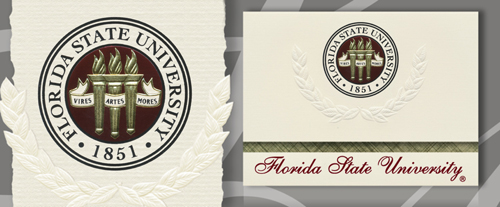 Florida State University Graduation Announcements