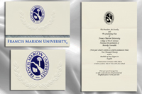 Platinum Style Francis Marion University Graduation Announcement