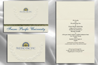 Fresno Pacific University Graduation Announcements