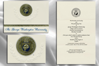 George Washington University Graduation Announcements