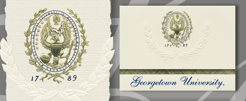 Georgetown University Graduation Announcements