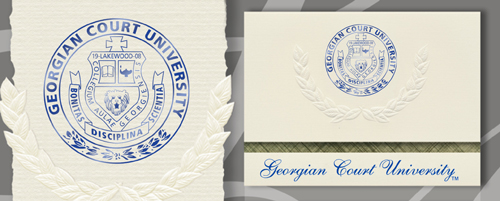 Georgian Court University Graduation Announcements