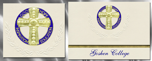 Goshen College Graduation Announcements